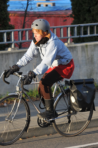 People on bikes-8
