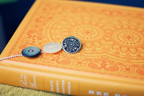 pretty bookmark for a pretty book