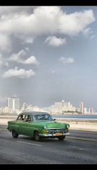 Malecon (polis poliviou) Tags: cuba  kuba havana  che revolution historical caribbean polispoliviou cubalibre republicofcuba republicadecuba communism lovelycuba havanacity habana cheguevara 1950s street architecture colourful canon eos travel colour vacation cuban old island road   afiap artistefiap polis poliviou chypre cyprus cubano streetphoto 1960s colonial havanavieja unesco lahavanavieja lahavane avana caribe embargo strada fidel vintage cubanrevolution allrightsreservedbypolispoliviou automobile taxi americanclassics carro automotives  chipre cipro  cipru    green  superaward seriousphotography brilliantphoto