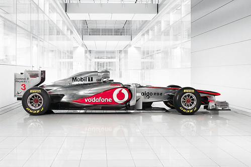 Vodafone McLaren Mercedes MP4-26