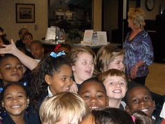 Happy ZES second graders visit Bank of Zachary