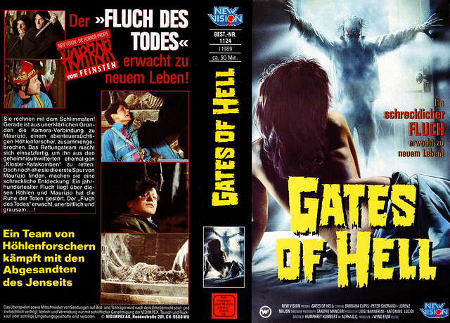 Gates Of Hell (VHS Box Art)