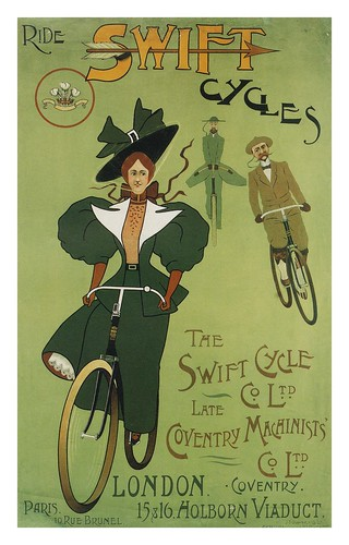 001-carteles de bicicletas antiguas