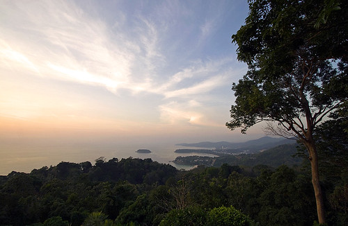 Sunset at Phuket Viewpoint