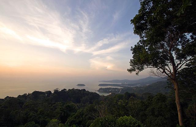 Sunset at Phuket Viewpoint