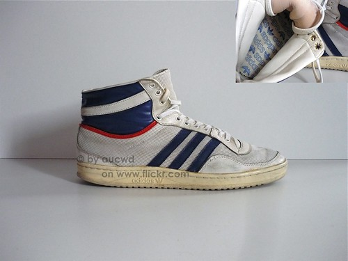 70`S 80`S VINTAGE ADIDAS AMERICANA HI SHOES a photo on