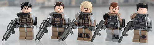 Custom minifig awesome PMC custom minifig decals