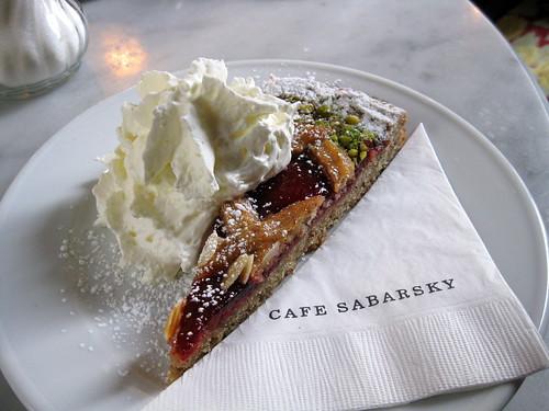 Cafe Sabarsky- Linzertorte