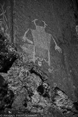 Black & White Shaman (IntrepidXJ) Tags: clearcreek fremont richfield petroglyphs rockart utah fremontindianstatepark fishlakenationalforest blackandwhite adventr randylangstraat anasaziphotography