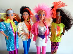 Barbie and the Rockers (devolanges~Addicted2Cuteness) Tags: rock stars band barbie dana 1986 1985 diva mattel rockers deedee