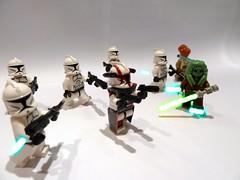 Kit Fisto's squad (picnik) (~Firefly~) Tags: star fil kit wars fisto