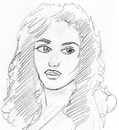 rachel weisz mummy returns. Rachel Weisz sketch