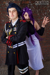 IMG_2353.jpg (Neil Keogh Photography) Tags: manga medals seraphoftheend headdress purple dress shorts top patches gold pants rope jacket shoes female uniform anime buttons militaryinsignia cosplayer cosplay shirt videogames military black badges soldier asuramaru nwcosplayjunemeet2016 white
