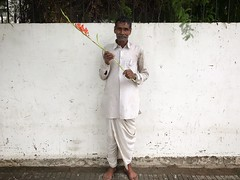 Shakespeare's Kalashnikov (Mayank Austen Soofi) Tags: delhi walla flower shakespeares kalashnikov