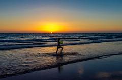 No one to play with (Tony_Brasier) Tags: sky sun swim bluesky water nikon boy football fun flickr fishing d7200 beach running holiday 16mm85mm lovely location spanish spain cadiz