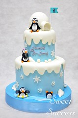 Winter Wonderland Cake (sweetsuccess888) Tags: cake birthdaycake winterwonderlandcake winterwonderland winter penguins snow christmas northpole sweetsuccess philippines