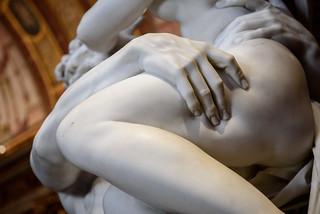 Rome - Galleria Borghese - The Rape of Proserpine by Gian Lorenzo Bernini, 1622
