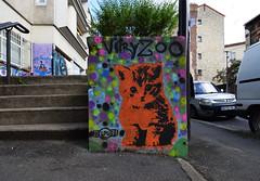 Chaton (HBA_JIJO) Tags: streetart urban graffiti vitry vitrysurseine pochoir stencil animal art france hbajijo wall mur painting peinture cat murale paris94 spray mural urbain charactere helpuss