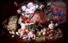IMG_4004O Abraham Brueghel. 1631-1697. Naples.   Nature morte avec des fruits. Still life with fruits. Turin. Sabauda. (jean louis mazieres) Tags: peintres peintures painting musée museum museo italie turin torino sabauda abrahambrueghel