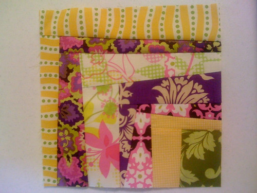 Sample block for my month in the Sew Fun 2 bee