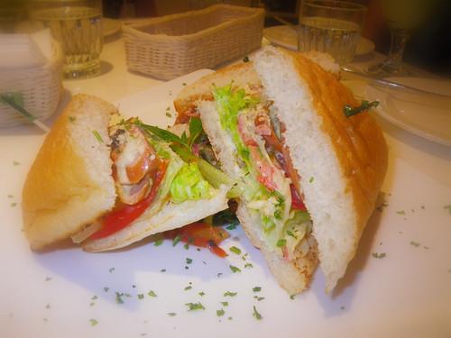 德式沙拉三明治
