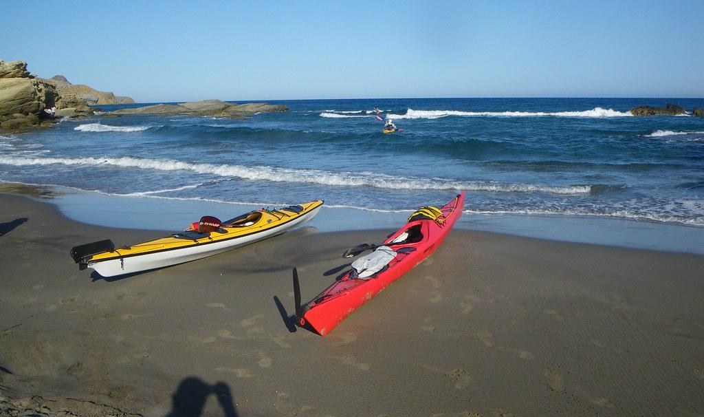 Cabo de Gata en kayak 560