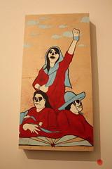 By The Time I Get To Arizona @ Mid-City Arts (melaneux) Tags: art graffiti losangeles pico phantom elmac artexhibit kofie retna bythetimeigettoarizona estevanoriol midcityarts 33third dabsmayla