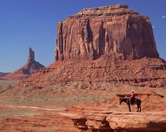 Indian pose copy (Duncanphotos) Tags: arizona navajo monumentvalley
