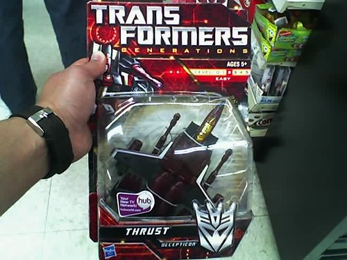 Transformers Generations Thrust