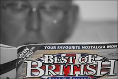 Go Andy! (Fifi 1968) Tags: uk bw unitedkingdom bokeh britain stephen andymurray worldcup wimbledon selectivecolour honestman28 scottishbutimnotbiasedheplaysforbritainlol