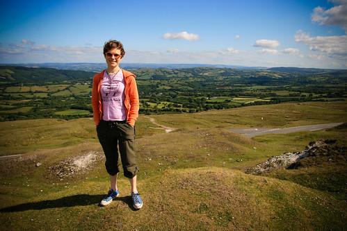 Monica in Wales