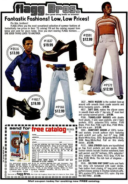 Super Fly Seventies Fashion From The Flagg Bros Voices