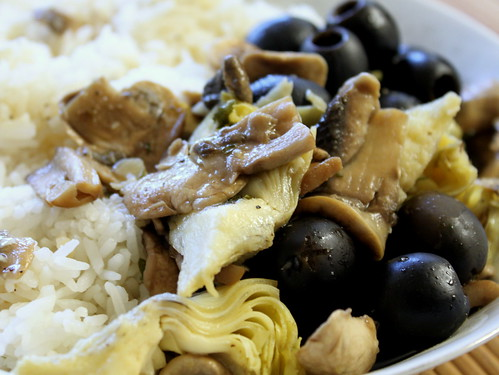 artichokes and olives