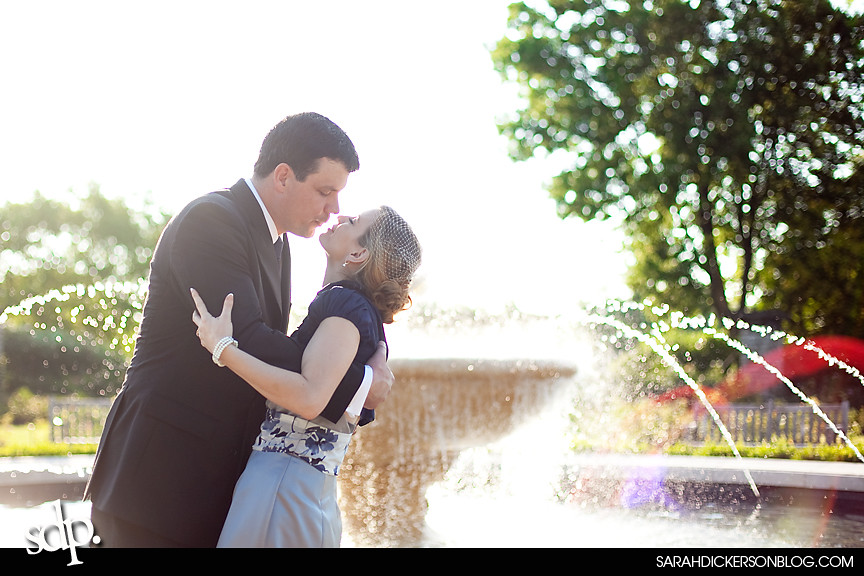 Loose Park, Kansas City wedding photos