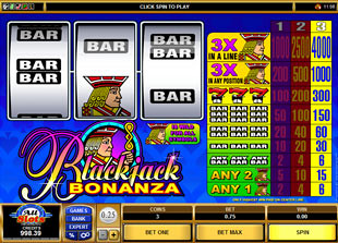Blackjack Bonanza slot game online review