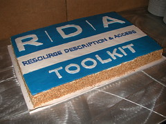 Celebrating the launch of RDA and RDA Toolkit ...