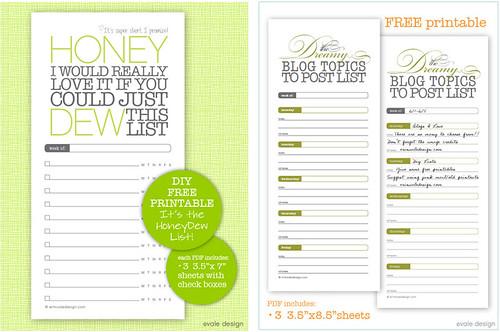honey dew and blog