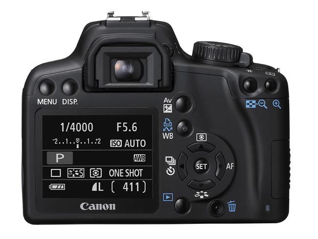 Стоимость Canon EOS 1000D в Европе составит 549 евро за просто камеру и...