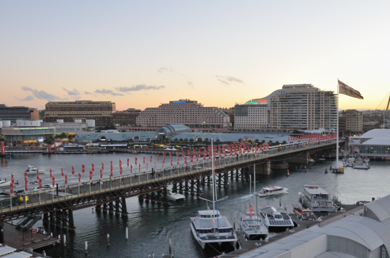 Darling Harbour - Pyrmont Bridge
