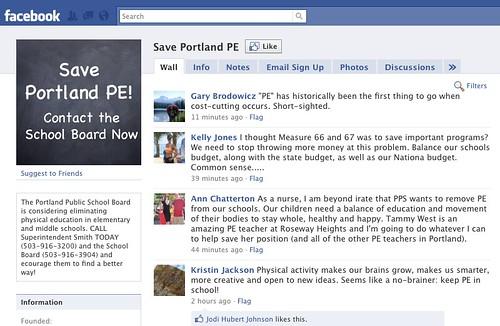 Save Portland PE!