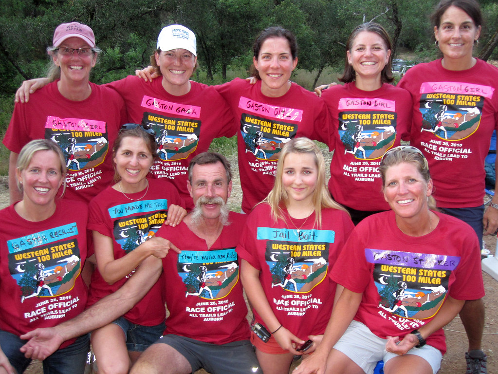 Auburn Lakes Aid Station Crew