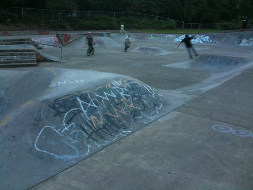 Water Works Park and Swift Skatepark