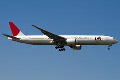 JA734J - 32433 - Japan Airlines - JAL - Boeing 777-346ER - 100617 - Heathrow - Steven Gray - IMG_5255