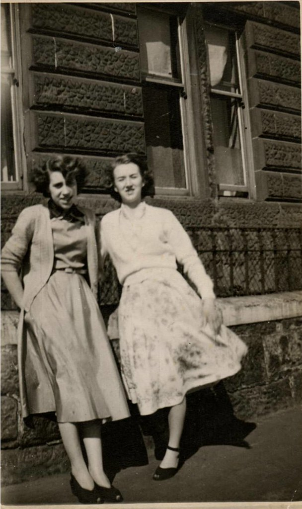 Margaret Campbell & Friend  1950s