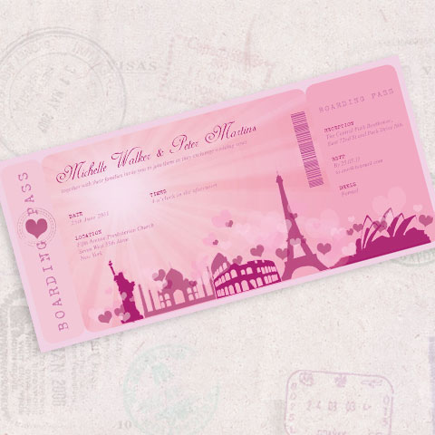 boarding pass magically romantic