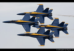 Blue Angels Diamond (Chris L360) Tags: show blue usa cloud saint minnesota canon aviation military air navy formation angels hornet f18 usn 2010