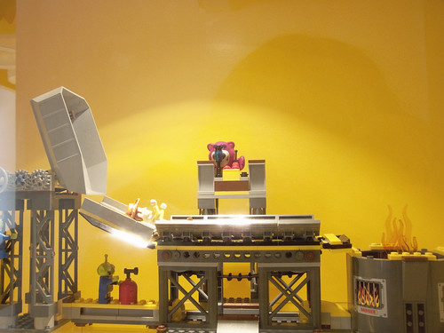 Toy Story 3 LEGO set in action