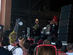 The Casualties. (Trevor Edwards.) Tags: arizona phoenix punk warpedtour vans thecasualties