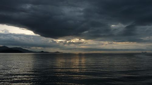 サムイ島 今日のお天気 夕暮れ