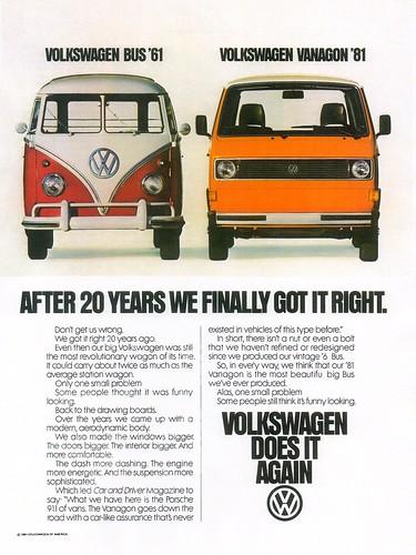 1981 Volkswagen Vanagon (USA)